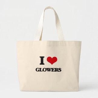 Amo Glowers Bolsa Tela Grande