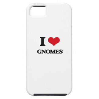 Amo gnomos iPhone 5 fundas