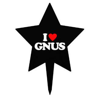 AMO GNUS FIGURA PARA TARTA
