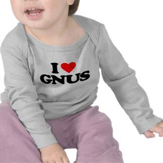 AMO GNUS CAMISETAS