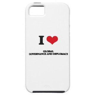 Amo gobierno y la diplomacia globales iPhone 5 Case-Mate carcasas