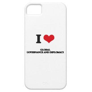 Amo gobierno y la diplomacia globales iPhone 5 fundas