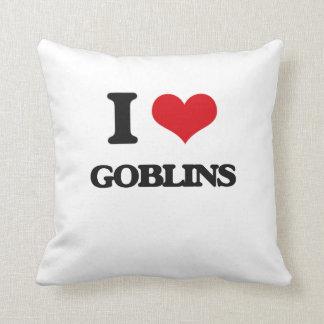 Amo Goblins Cojines