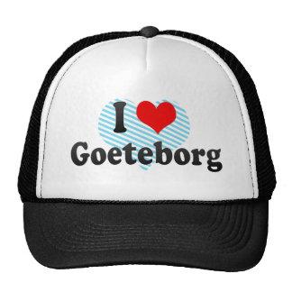 Amo Goeteborg, Suecia Gorras De Camionero