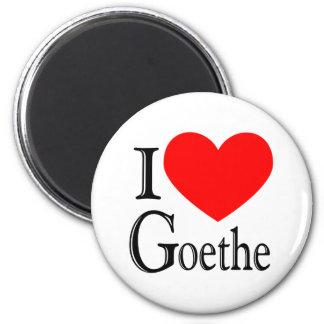 Amo Goethe Imán Redondo 5 Cm