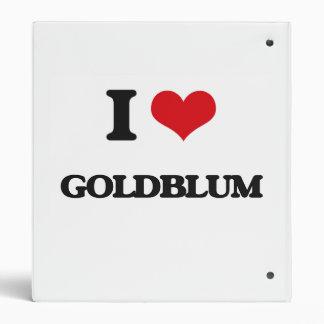 "Amo Goldblum Carpeta 1"""