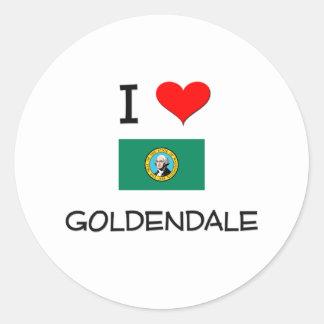 Amo Goldendale Washington Etiqueta