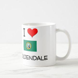 Amo Goldendale Washington Taza De Café