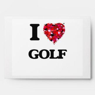 Amo golf sobres
