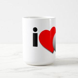 Amo golf taza de café