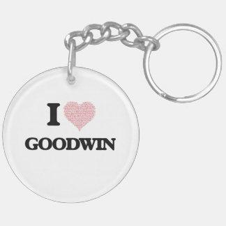 Amo Goodwin Llavero Redondo Acrílico A Doble Cara