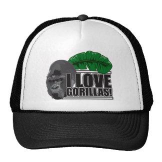 Amo gorilas gorro
