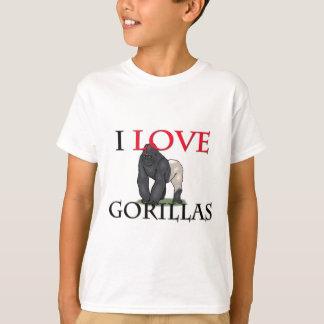 Amo gorilas poleras