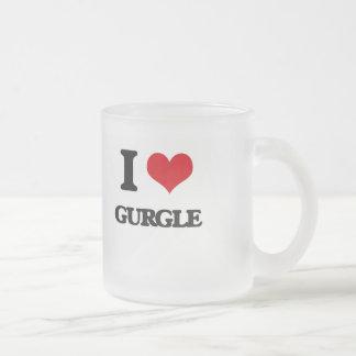 Amo gorjeo taza