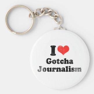 AMO GOTCHA JOURNALISM.png Llavero Personalizado