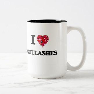 Amo Goulashes Taza Dos Tonos
