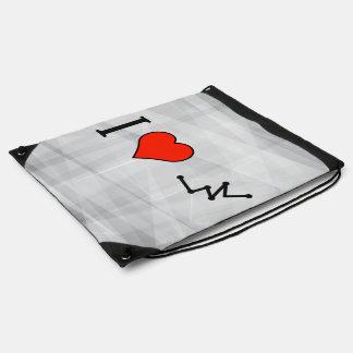 Amo gráficos poligonales mochilas
