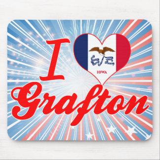 Amo Grafton Iowa Alfombrilla De Ratones