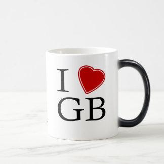 Amo Gran Bretaña Tazas