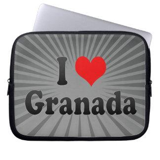 Amo Granada, España Fundas Ordendadores