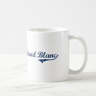 Amo Grand Blanc Michigan Taza Básica Blanca