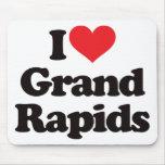 Amo Grand Rapids Alfombrillas De Ratones