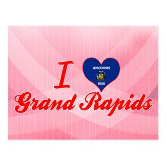 Amo Grand Rapids, Wisconsin Postales