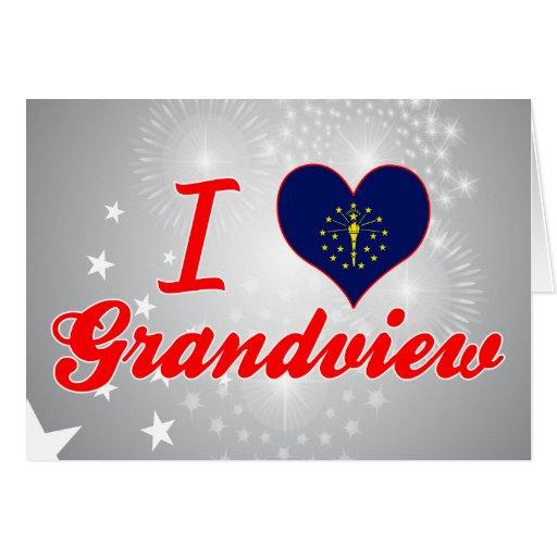Amo Grandview, Indiana Felicitacion