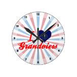 Amo Grandview, Indiana Relojes De Pared