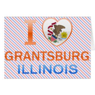 Amo Grantsburg, IL Tarjeta De Felicitación