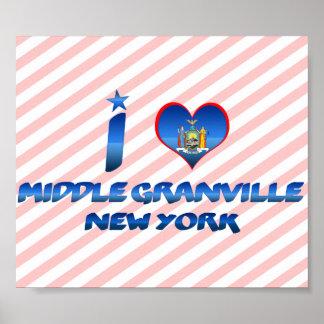Amo Granville medio, Nueva York Impresiones