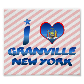 Amo Granville, Nueva York Impresiones