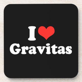 AMO GRAVITAS png Posavasos De Bebida