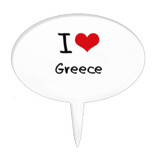 Amo Grecia Figuras Para Tartas