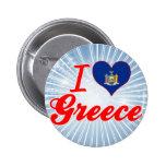 Amo Grecia, Nueva York Pins