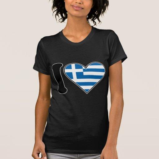 Amo Grecia Playera