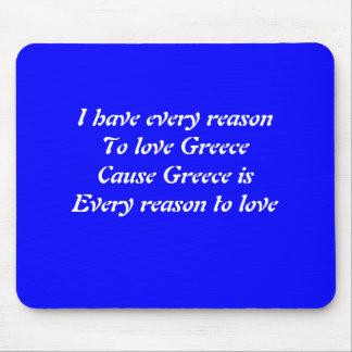 Amo Grecia Tapete De Raton
