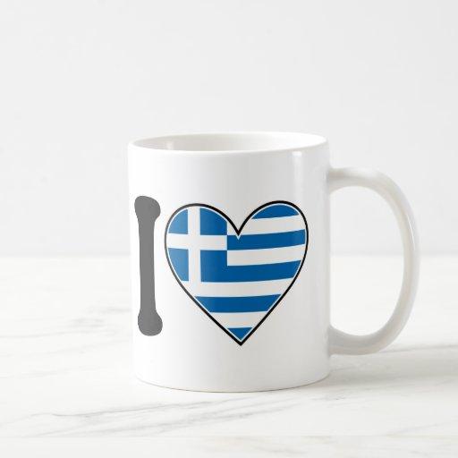 Amo Grecia Taza De Café