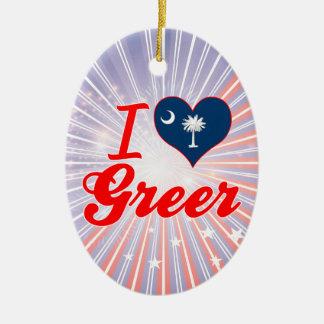 Amo Greer Carolina del Sur Ornamento Para Reyes Magos