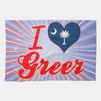 Amo Greer Carolina del Sur Toallas De Mano