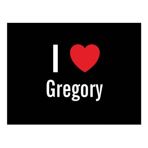 Amo Gregory Tarjetas Postales