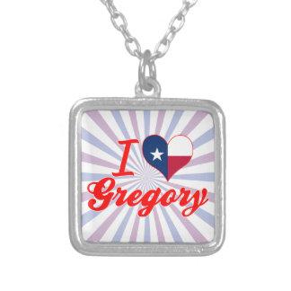 Amo Gregory, Tejas Collar Personalizado