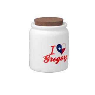Amo Gregory, Tejas Platos Para Caramelos