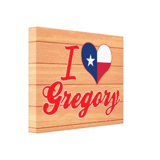Amo Gregory, Tejas Impresiones De Lienzo