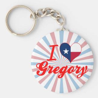 Amo Gregory, Tejas Llaveros Personalizados