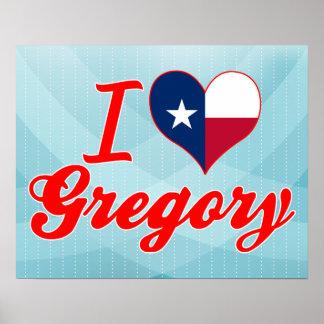 Amo Gregory, Tejas Impresiones