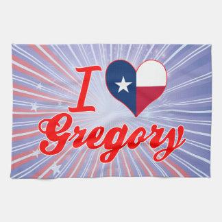 Amo Gregory, Tejas Toalla