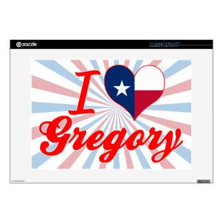 Amo Gregory, Tejas 38,1cm Portátil Calcomanía