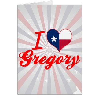 Amo Gregory, Tejas Tarjetón