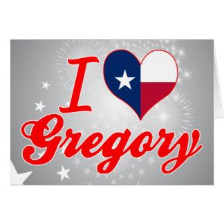 Amo Gregory, Tejas Felicitacion